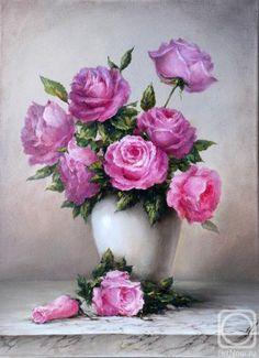 Лашманова Светлана. Розовые розы