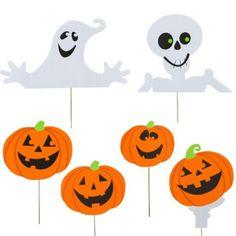 Halloween Yard Signs 6ct
