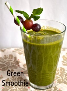 Fill Your Day With Green! Yummy Green Smoothie Recipes »
