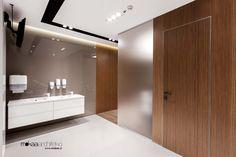 Wnętrza Kliniki Parens. Projekt: Mokaa Architekci