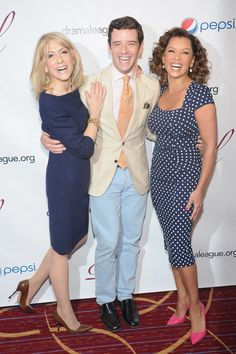 Vanessa Williams Photos - (L-R) Actors Judith Light, Michael Urie and Vanessa Williams attend the Annual Drama League Awards Ceremony And Luncheon at Marriott Marquis Hotel on May 2013 in New York City. - Arrivals at the Drama League Awards Ceremony Helen Williams, Vanessa Williams, Miss America Winners, Christopher Jackson, Tony Danza, Ugly Betty, Elton John Aids Foundation, Actors Male, Got The Look
