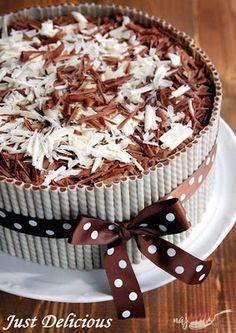 Sweet Desserts, Sweet Recipes, My Dessert, Dessert Recipes, Super Cookies, Chocolate Mousse Cake, Croatian Recipes, Russian Recipes, Nutella