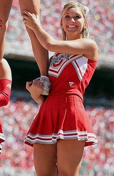 Ohio State Buckeyes cheerleader