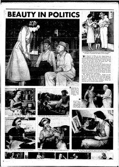 Venus Ramey, Miss America 1944, runs for city council.