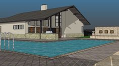Contemporary House22 - 3D Warehouse