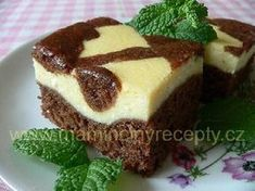Other Recipes, Sweet Recipes, Czech Recipes, Sponge Cake, Sweet Cakes, Baking Recipes, Holiday Recipes, Cheesecake, Food And Drink