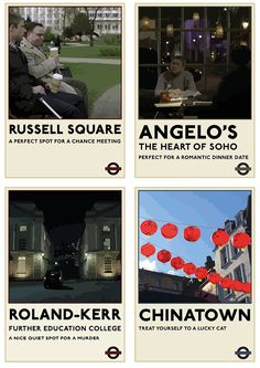 khorazir Sherlock TfL posters