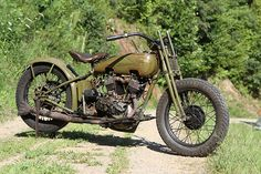 1926 Harley Racer - it may not win any races now, but I'd rather be on this than any crotch rocket.