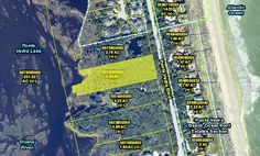 1266 PONTE VEDRA BLVD. -  Beautiful 2.90 acre wooded lot with 200ft on the Guana Lake, directly across the street from the Atlantic Ocean.  Build your private estate.  Enjoy the beach and ocean breeze.