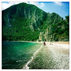 Çirali beach, Turkey.. few people know how beautiful this country is..