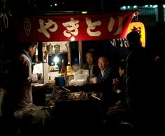 """ #Yakitori "" which is Grilled skewers of chicken and vegetables. There are dozens of varieties of Yakitori "". Let's find a cheap, but tasty "" #Yakitori "" stalls on the street or backstreet for your cheap and memorable night-out in #Japan."