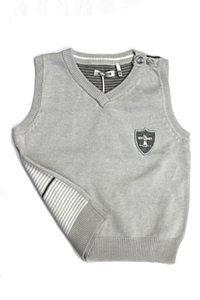 IKKS Grey Striped Vest