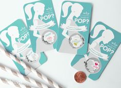 24 Ready to Pop Scratch Off Cards for Baby by InklingsPaperie