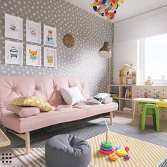 A Scandinavian Style Apartment Perfect For a Small Family