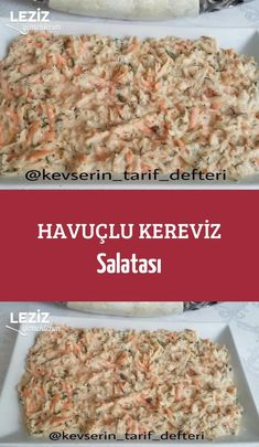 Carrot Celery Salad – My Delicious Food - Salat Turkish Salad, Celery Salad, Vegetable Recipes, Carrots, Food And Drink, Healthy Eating, Yummy Food, Pasta, Healthy Recipes