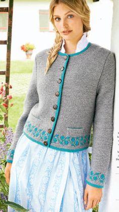 d29288b7235a  ClippedOnIssuu from Lana Grossa FILATI Trachten No. 6 Knitting Stitches,  Baby Knitting,
