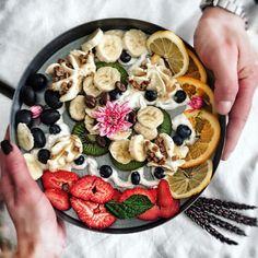 Acai Bowl, Breakfast, Food, Acai Berry Bowl, Morning Coffee, Meals, Yemek, Eten