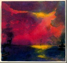 Alrededordeldia: Emil Nolde.Mar y nubes