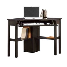 Space Saving Corner Computer Desk Great for Home Office This corner computer desk good looking office desk at a great value that does the job in any setting. Office Workstations, Home Office Desks, Home Office Furniture, Online Furniture, Loft Office, Small Office, Office Chairs, Drawer Shelves, Desk Storage