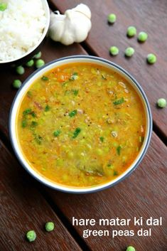 matar ki dal recipe, peas dal recipe, hare matar ki daal with step by step photo/video. healthy way of preparing curry using green peas and other spices. Daal Recipe Indian, Matar Recipe, Dal Recipe, Pea Recipes, Lentil Recipes, Curry Recipes, Lunch Recipes, Breakfast Recipes, Vegetarian Lunch