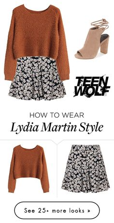 """Lydia martin Inspired outfit "" by kittylovesxoxo on Polyvore featuring Topshop"