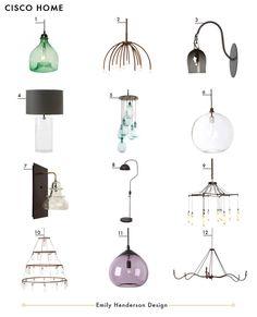 Cisco Home Ultimate Lighting Guide Master Light Emily Henderson Design