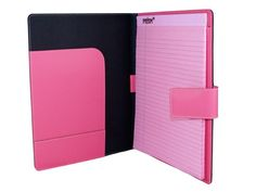 Recycled Leather Portfolio - Pink @annaleis graff Candy Gals
