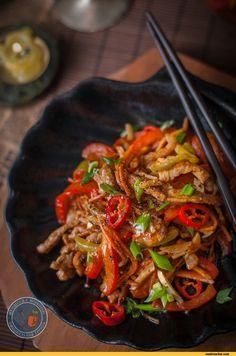 Meat Recipes, Mexican Food Recipes, Salad Recipes, Chicken Recipes, Cooking Recipes, Ethnic Recipes, Top Salad Recipe, Queens Food, Korean Food