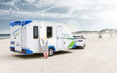 KNAUS SPORT&FUN   Der flexible Caravan für Aktivurlauber
