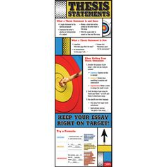 Keep Your Essay Right on Target Poster, Grammar & Writing Posters: Teacher's Discovery