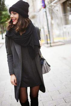 Moda: Outfits para estos días de frío y lluvias