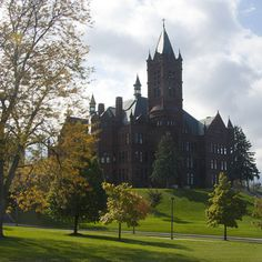syracuse university-- crouse college where i studied music