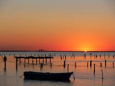 Sunrise at Delte de l'Ebre