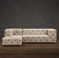 Soho Tufted Upholstered Chaise. In love with this