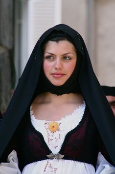Costume from Isili