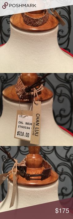 Chan luu signature bracelet Chan luu signature bracelet with copper and silver beads Chan Luu Jewelry Bracelets