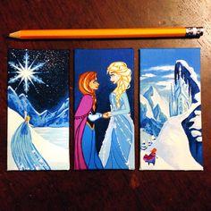 Custom 2x4 Disney Princess Canvas by SavannaRodriguez on Etsy, $27.00