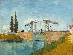 Vincent van Gogh - The Drawbridge, 1888  Wallraf-Richartz-Museum, Köln