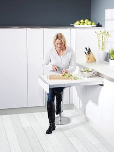 Unique Wickes Extending Concealed Pull Out Table