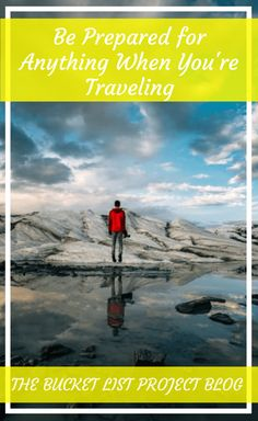 Traveling can offer some amazing experiences. But there's always a chance that something unexpected could happen. So, while it's difficult to be prepared for everything, there are some top tips you can do to help when your traveling. Travel Goals, Travel Advice, Us Travel, Travel Guides, Travel Tips, Adventure Bucket List, Adventure Travel, Bucket List Ideas For Women, Adventure Activities
