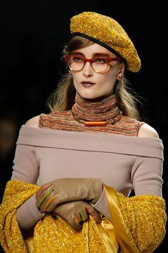 Rodarte AW14 use colourful autumnal colours ...