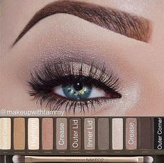 First day of school makeup; back to school. Going to use my new naked2 palette
