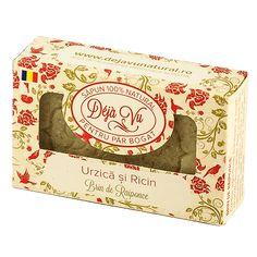 Sapun natural cu Argila, Ghimbir si Ienupar – Deja Vu Natural Savon Soap, Bar Soap, Container, Natural, Clays, Rapunzel, Soap, Nature, Canisters