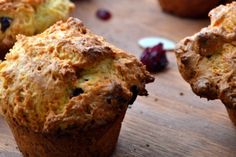 Healthy Orange Cranberry Oatmeal Muffins (gluten-free option and naturally vegan)