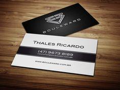 Cartão de visita para o cliente Bouleward