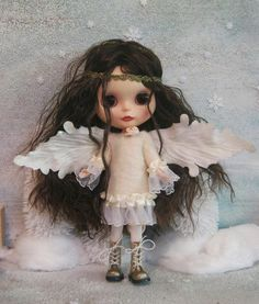 https://flic.kr/p/8WZqKS | Angel Costume for Blythe doll