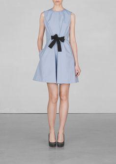 A-line cotton dress | A-line cotton dress | & Other Stories
