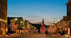 Harbor Springs, MI- family-friendly beach resort town: old-time ice cream and candy shops; a historic lighthouse; sailing schools; and nearby nature preserves. In winter, strap on ski boots and snowshoes. www.personalvacations.biz