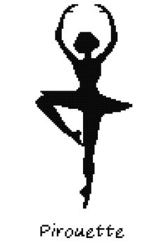 Hey, I found this really awesome Etsy listing at https://www.etsy.com/listing/162003681/ballet-position-pirouette-wall-art-cross