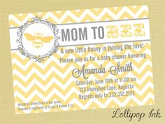 Vintage Bumble Bee Baby Shower